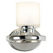 Bow 1 Light Sconce (Polished Nickel)