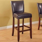 Telegraph 29 inch Barstool (Brown) (Set of 2)