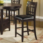 Lavon 24 inch Barstool (Cappuccino) (Set of 2)