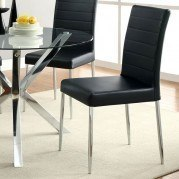 Vance Dining Chair (Black) (Set of 4)