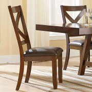 Omaha Side Chair (Brown) (Set of 2)