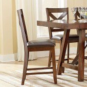 Omaha Counter Height Chair (Brown) (Set of 2)