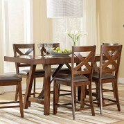 Omaha Counter Height Dining Table (Brown)