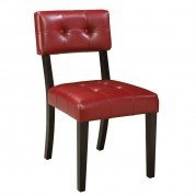Miller Side Chair (Red) (Set of 2)