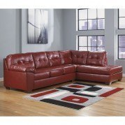 Alliston DuraBlend Salsa Sectional w/ Right Chaise
