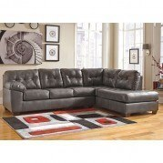 Alliston DuraBlend Gray Right Chaise Sectional