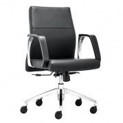 Conductor Low Back Office Chair (Black)