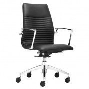 Lion Low Back Office Chair (Black)