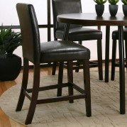 Kemper Counter Height Parson's Chair (Cordovan) (Set of 2)