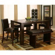 Kemper Rectangular Counter Dining Set w/ Cordovan Chairs