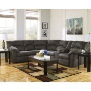 Tambo Pewter Reclining Sectional Set