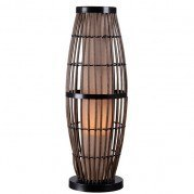 Biscayne Outdoor Table Lamp (Rattan)