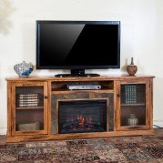 Sedona 80 Inch Fireplace Media Console