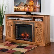Sedona 66 Inch Fireplace TV Console