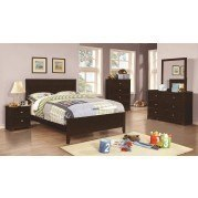 Ashton Youth Bedroom Set (Cappuccino)