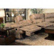Voyager Lay Flat Reclining Console Loveseat