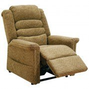 Soother Power Lift Full Lay-Out Recliner w/ Heat and Massage (Autumn)