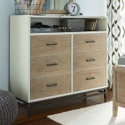 myRoom Dressing Chest (Parchment/ Gray)
