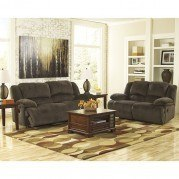 Toletta Chocolate Reclining Living Room Set w/ Power