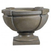 Square Strap Urn (Tuscan Earth)