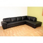 Diana Right Facing Chaise Sectional (Black)