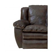 Aria Power Lay Flat Recliner (Chocolate)