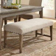 Weatherford Upholstered Bench
