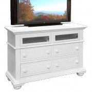 Cottage Traditions Entertainment Dresser (White)