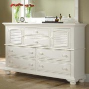 Cottage Traditions High Dresser (White)