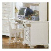 Cottage Traditions Computer Desk (White)
