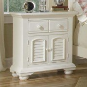 Cottage Traditions Large Nightstand (White)
