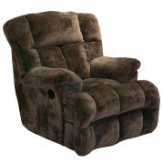 Cloud 12 Power Lay Flat Chaise Recliner (Chocolate)