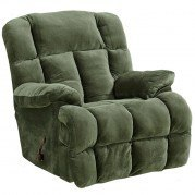 Cloud 12 Power Lay Flat Chaise Recliner (Sage)