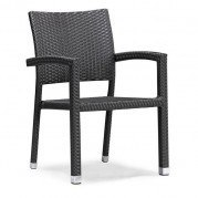 Boracay Outdoor Dining Chair (Espresso) (Set of 2)