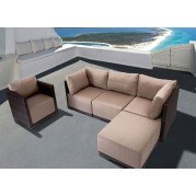 Park Island Outdoor Seating Set (Brown)