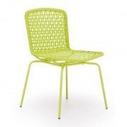Silvermine Bay Outdoor Dining Chair (Lime) (Set of 4)