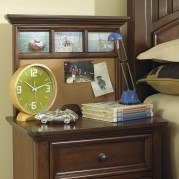Expedition Nightstand w/ Back Panel