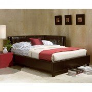 Rochester Corner Bed (Brown)
