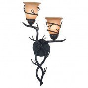 Twigs 2 Light Wall Sconce