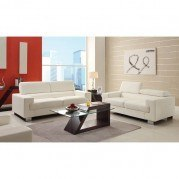 Vernon Living Room Set (White)