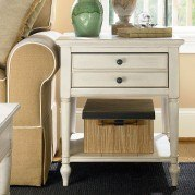 Summer Hill End Table (Cotton)