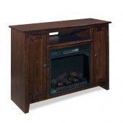 Ace Fireplace Console (Dark Pine)