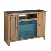 Ace Fireplace Console (Light Pine)