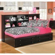 Jaidyn Youth Bookcase Bed