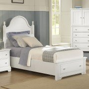 Cottage Youth Panel Storage Bed (Snow White)