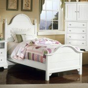 Cottage Youth Panel Bed (Snow White)