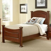 Hamilton Franklin Youth Panel Bed (Cherry)