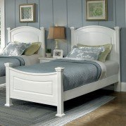 Hamilton Franklin Youth Panel Bed (Snow White)