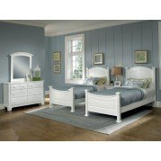 Hamilton Franklin Youth Panel Bedroom Set (Snow White)