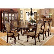 Medieve Dining Room Set (Cherry)